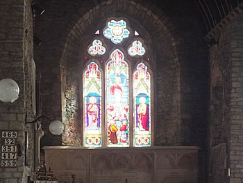 Interior of St Peters Church, Berrynarbor