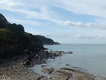 Berrynarbor Parish coast views from Combe Martin