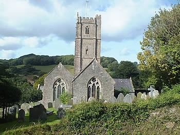 St Peter's Parish Church, Berrynarbor