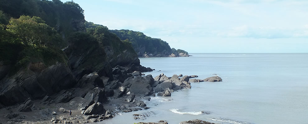 Views of the coast in the Parish of Berrynarbor taken from Combe Martin