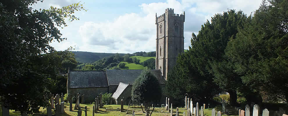 The Parish Church of St Peters at Berrynarbor